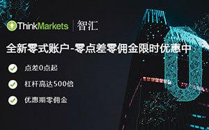 ThinkMarkets智汇MT4外汇平台比特币交易